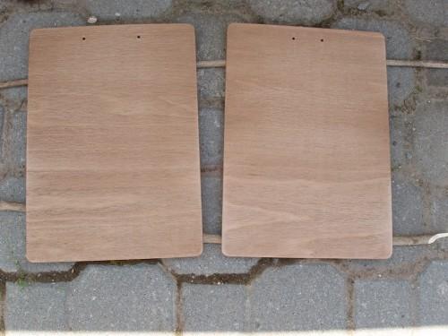Clipboard-uri fag A4 date cu 4 straturi de baiț de nuc (înainte de finisare)