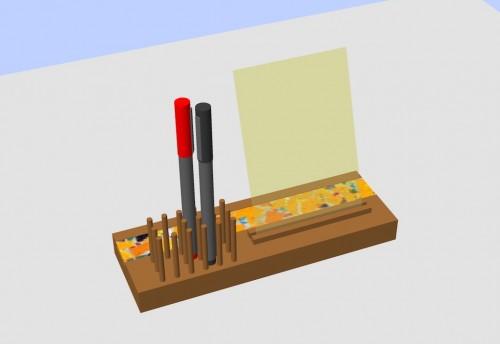 Prototipul 3D al suportului.