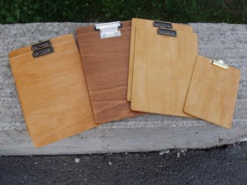 Clipboarduri la final (2 x fag natur, 2 x fag băițuit nuc, 3 x mesteacăn natur)
