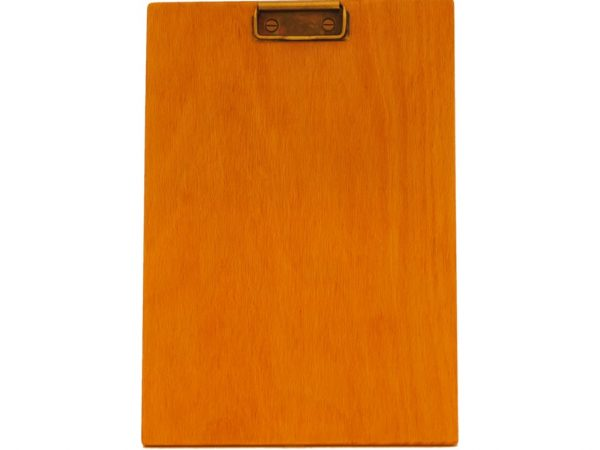 Clipboard A4 natur - mecanism bronz antic