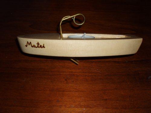 """Barca """"Matei"""" gata de lansare la apă"""
