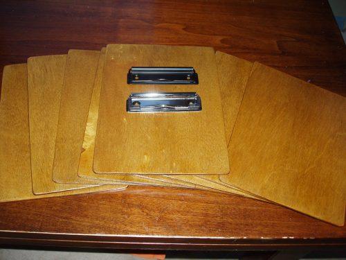 Clipboard-uri A5 finisate - să fie mecanism cromat sau negru mat